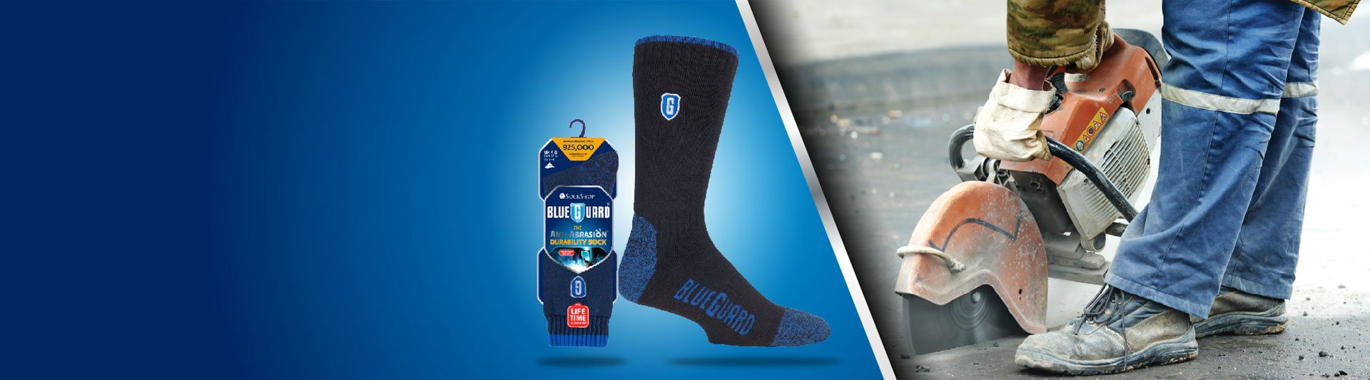 blue-guard Work Force Socks